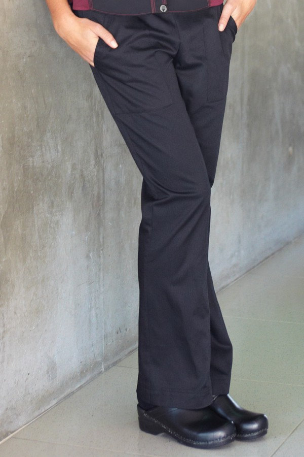 e828bdbb9ab Pantalón de Dama a la Cadera Negro - Chefworks