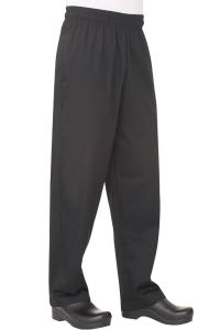 Pantalón Baggy Básico Negro
