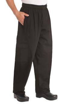 Pantalón Cargo Negro Baggy