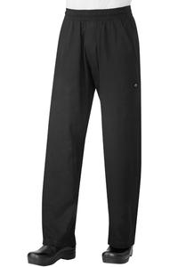 Pantalón Baggy Ajustado Negro